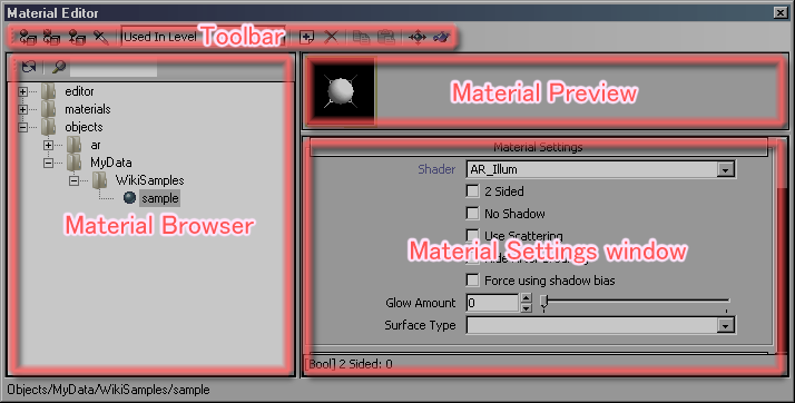 Image:MaterialEditor_Layout.png